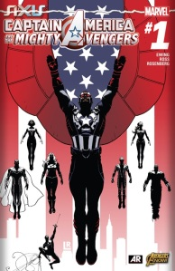 CaptainAmericaandtheMightyAvengers#1 1