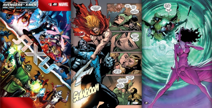 Avengers and X-men #8 Review