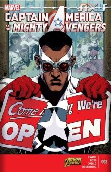 CaptainAmericaandtheMightyAvengers#2 1