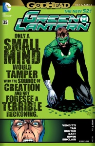 Green Lantern #35 Review