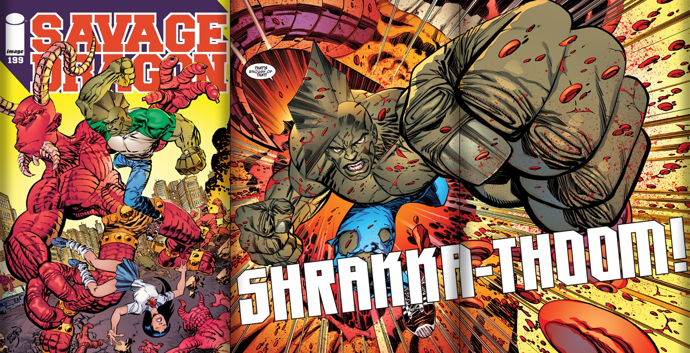 Savage Dragon 196 197 198 199 And 200 Review