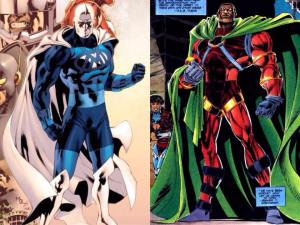 Blue Marvel and Icon